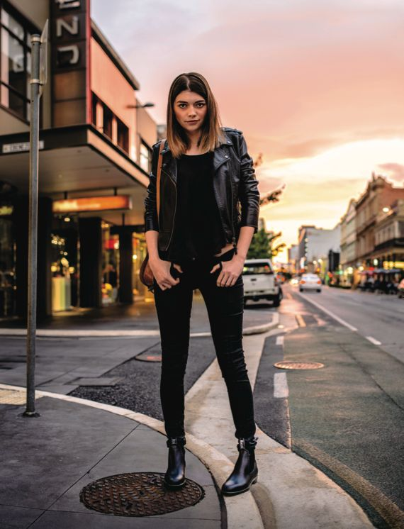 Rossi Boots 'Ballarat P162' dress boot for men and women. Designed and made in Australia.