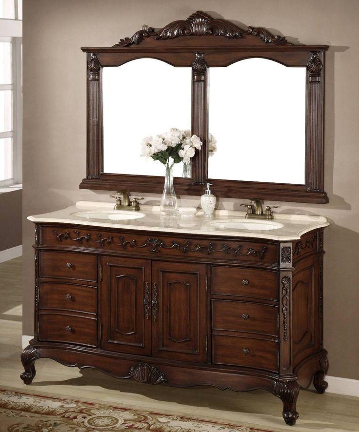 62 Inch Denver Vanity Matching Set Mirror Denver Sink