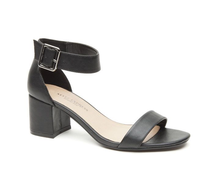 Ebony Dress Sandals - Wide Fit - Number One Shoes