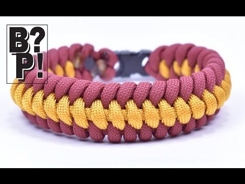 How to make the Ridged Fishtail Paracord Bracelet - BoredParacord.com - YouTube