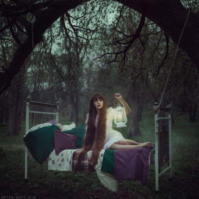 Ожившие сказки в магических портретах украинского фотографа