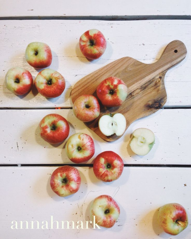 'Apples' photography and styling by Anna H Mark