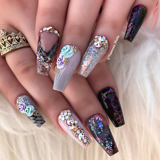 433 best Uñas images on Pinterest | Beleza, Nail design and Acrylic ...