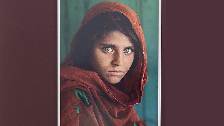 Steve McCurry  --  'Afgan Kızı' sahtecilikle suçlanıyor