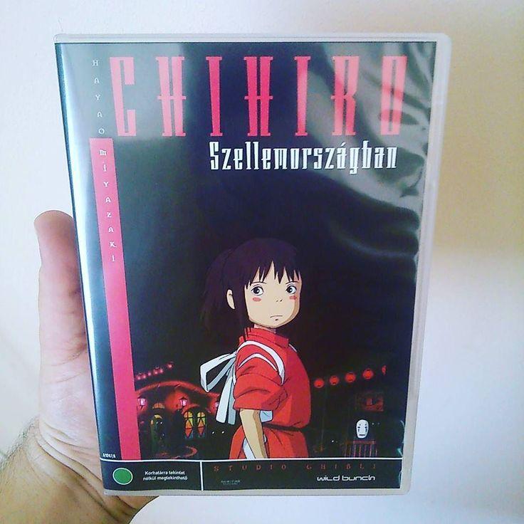 New dvd: Chihiro szellemországban/ Spirited away #spiritedaway #chihiro #hayaomiyazaki #studioghibli #chihiroszellemorszagban #ghibli #anime #animation #miazaki #dvd #dvds #dvdcollector #dvdcollection #dvdaddict #dvdaddiction by thom0305