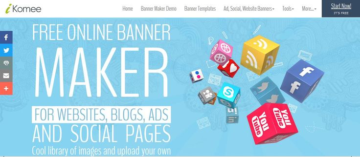 If you are looking to create stunning website banners online then you are at the right place. iKomee provide you drag & drop online banner maker interface to create banners in any color, size or style.
