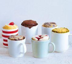 Кексы в кружке за 10 минут: 5 рецептов для ленивых