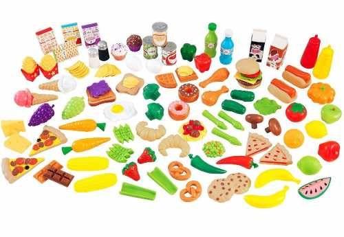 accesorios de cocina kidkraft comida juguetes niña cocinita