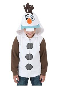 "Has he caught Frozen fever too? Then get him this cute Olaf sweater that's perfect for everyday use and singing along to Olaf's ""In Summer"" song. Frozen Olaf Child Sweater - 339898 via trendyhalloween.com  #olaf #frozen #holidaygifts"