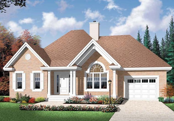 Country House Plan 76352