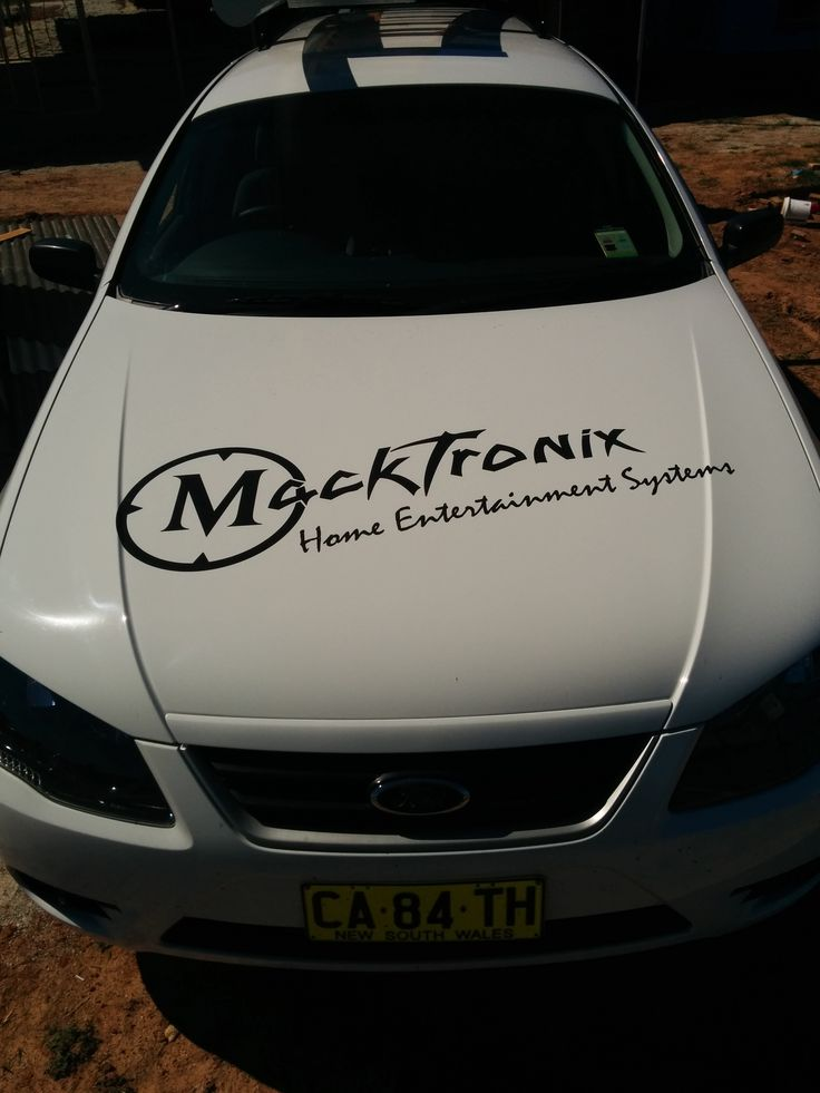 Bonnet shot of the newest addition to the Macktronix Vehicles Line-up!