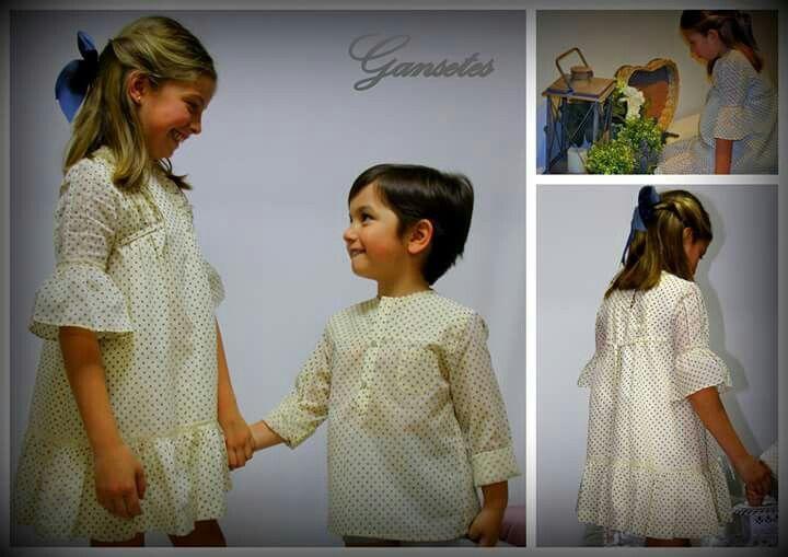Que niños tan bien vestidos!