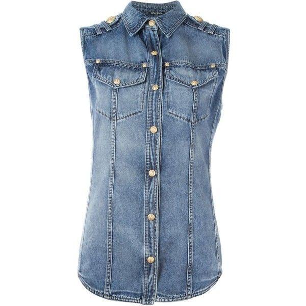 17 Best ideas about Sleeveless Denim Jackets on Pinterest | Crop ...