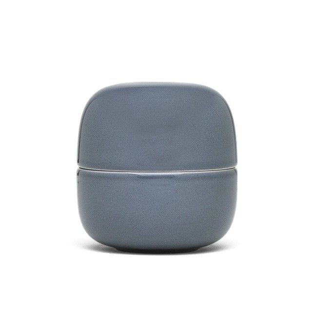 Bellino Grey lidded jar