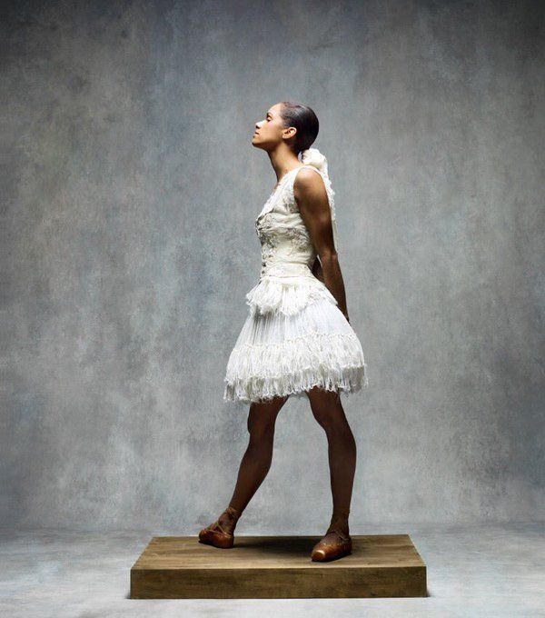 Misty Copeland Recreates Iconic Edgar Degas Artwork for Harper's Bazaar