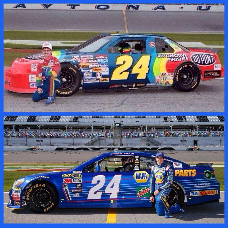 Kara's favorite driver is the #24 (Chase Elliot). To me, he is a good driver, but no one can replace Jeff!!! Chase will always be #88, and Jeff will always be #24ever!!! <3<3<3