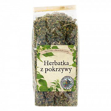 HERBATKA Z POKRZYWY - Produkty Benedyktyńskie         Pokrzywa, poczynając od korzeni, poprzez łodygi i liście aż po kwiaty ma właściwości lecznicze. Pokrzywa pomaga w przypadku ...