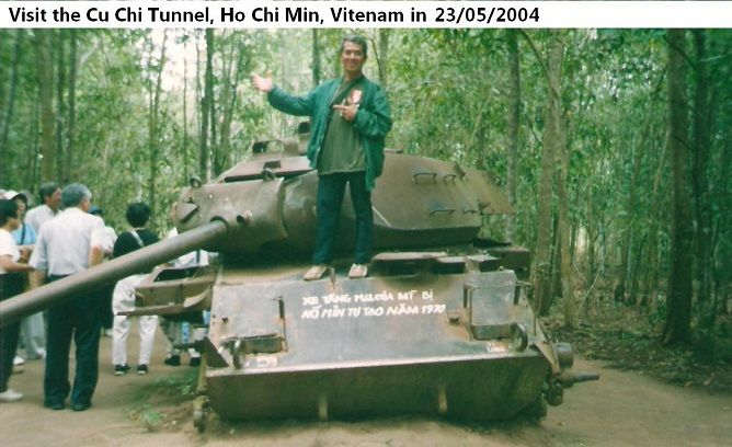 It had been 12 years already when I was strong and handsome man.  Why left your tank here ! Today I think still there lo !