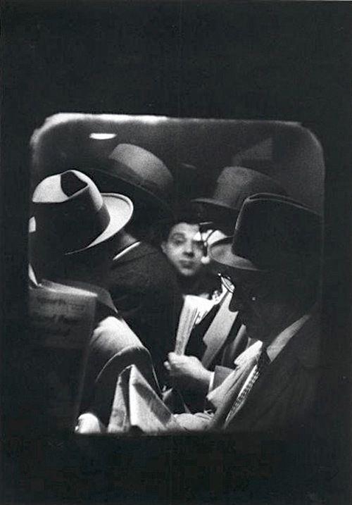 Louis Stettner - Odd Man in - 1958 FromPenn Station Series