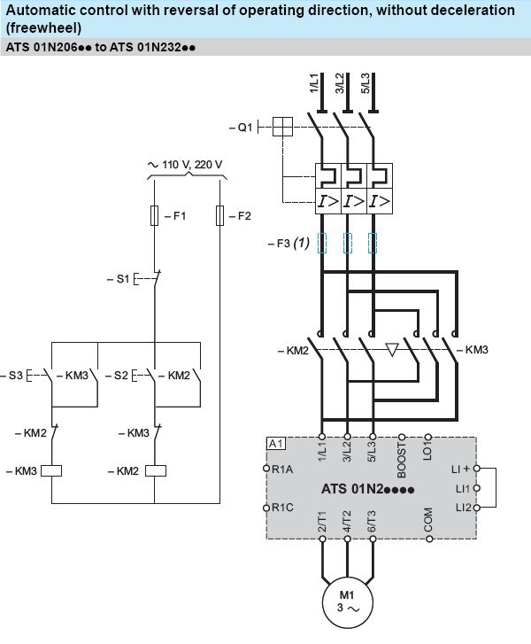 Forward and Reverse Motor Starter Wiring Diagram Elec