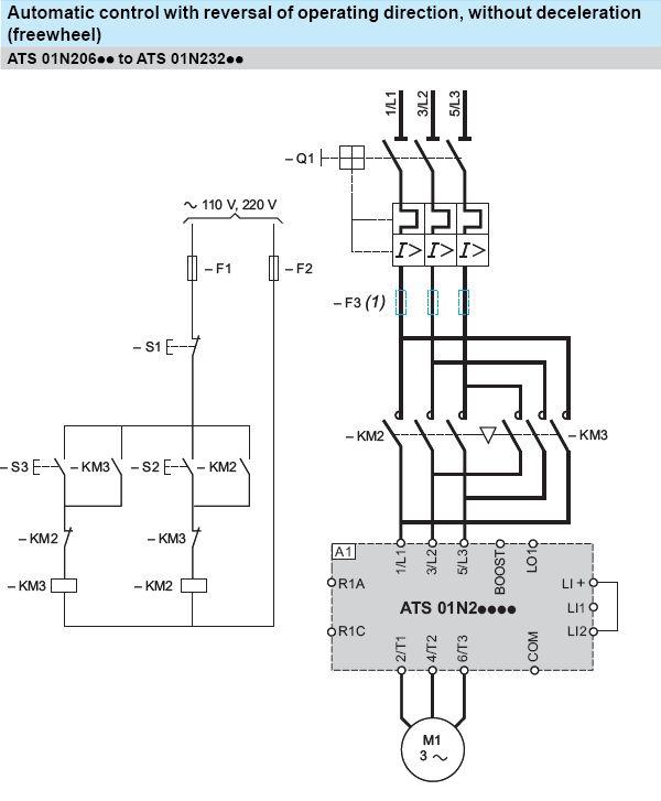 Forward and Reverse Motor Starter Wiring Diagram | Elec