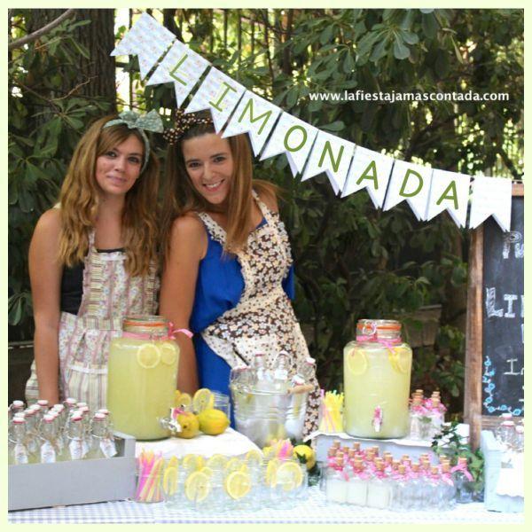 """""""Puestos de limonada para bodas LFJC"""""""