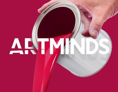 """다음 @Behance 프로젝트 확인: """"ARTMINDS"""" https://www.behance.net/gallery/43133865/ARTMINDS"""
