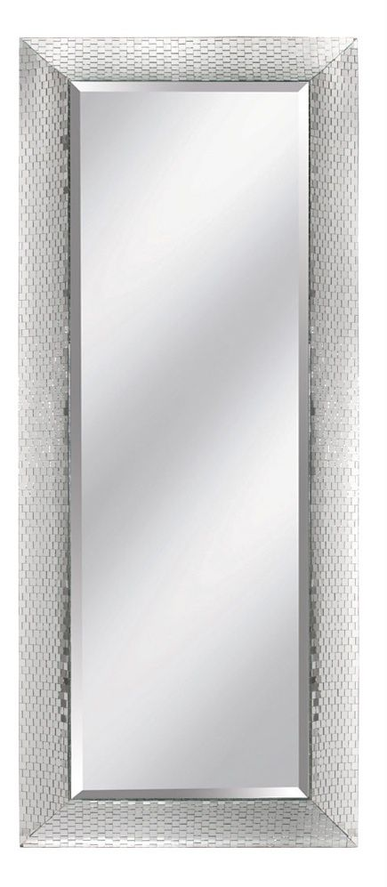 Wall Mirrors, Luxury Designer Silver Hollywood Faceted Dressing Mirror $2495 so …, #Cornerd…
