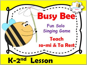 Busy Bee Song - YouTube