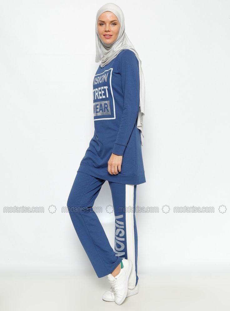 Tunic & Pants Tracksuit Taki Is - Blue - Bwest