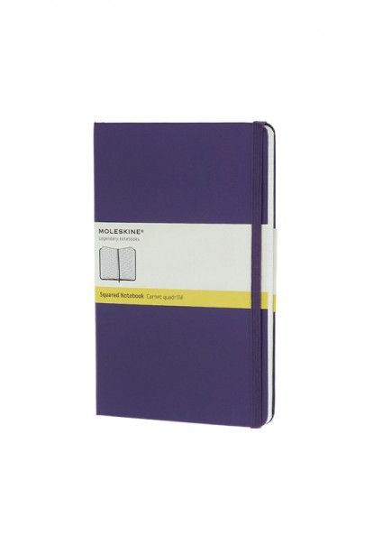 Moleskine Classic - Large (13x21cm) - Squared Notebook - Hard Cover - $29.95