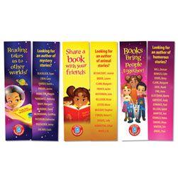 Reading Rewards Bookmarks set 2
