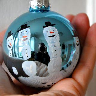 make these now! handprint snowman ornament. :)
