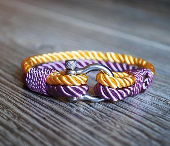 Classy Purple Rope Bracelet For Women Stylish Womens