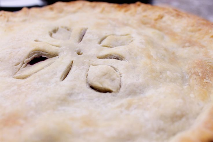 What She Eats-Basic Blueberry Pie