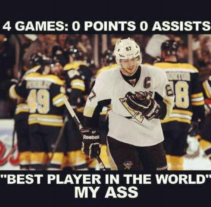 2013 playoffs Crosby