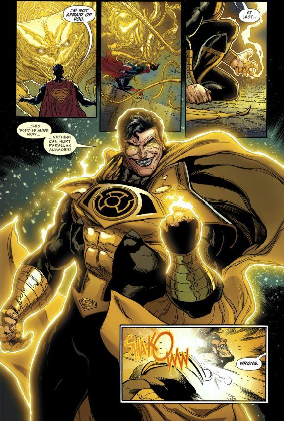 Parallax Possesses Superman   Cómics y dibujos animados