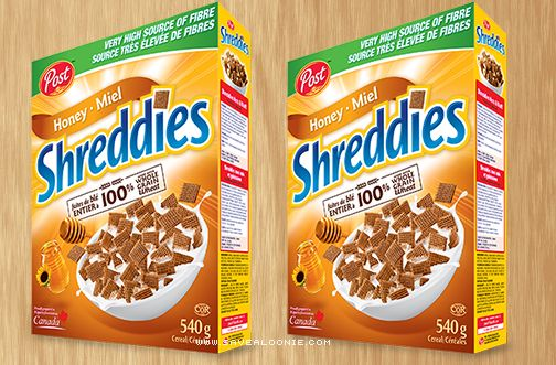 Post Shreddies Cereal is one of those things that everyone has some sort of childhood memory of. For me, it's breakfast at Grandma & Grandpa's house. W