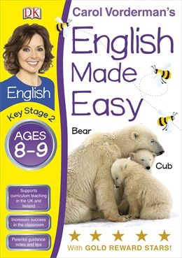 jacket image for English Made Easy Ages 8-9 Key Stage 2 by -  Carol Vorderman