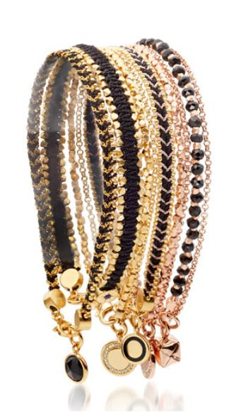 Gorgeous stackable bracelets