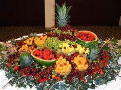 Fruit Display - wedding