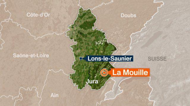 La Mouille (Haut-Jura) : un cambrioleur abattu par le propriétaire d'une casse-auto - Franceinfo
