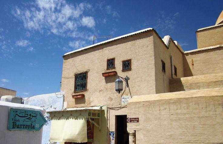 Tunisian traditional building in Kairouan