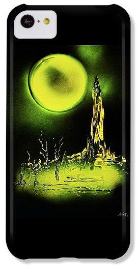 Land Of Rituals IPhone 5c Case Printed with Fine Art spray painting image Land Of Rituals by Nandor Molnar (When you visit the Shop, change the orientation, background color and image size as you wish)