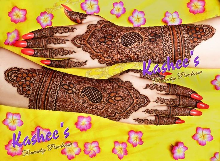 Best & Beautiful Kashee's Mehndi Designs Collection 2016-2017 for Girls
