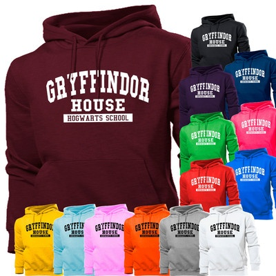 GRYFFINDOR HOUSE HARRY POTTER SCHOOL HOODIE