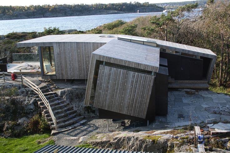 Seasida Cabin Larvik, Norway  by Snöhetta