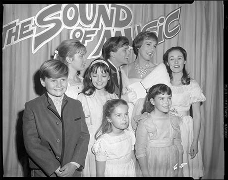 """- EXCLUSIVE: Must See! Even More Rarely-Seen Pics from the """"Sound of Music"""" Film Set and Recording Studio - Photo - Playbill.com"""