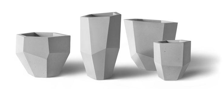 Quartz Series - Precast Concrete Planters Group