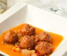 Albóndigas de ternera en salsa de verduras Thermomix